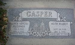 Audrey Voncile <i>Pulsipher</i> Casper