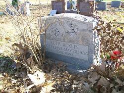 Ruth Acklin