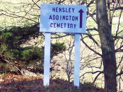 Hensley Addington Cemetery