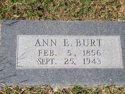 Ann E. <i>Leatherwood</i> Burt