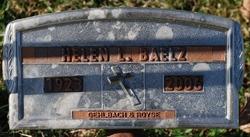 Helen Lee <i>Baxley</i> Baelz