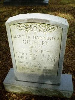 Martha Darinda <i>Guthery</i> McKoy