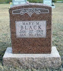 Mary Melissa <i>Winfough</i> Black