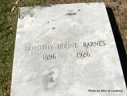 Dorothy <i>Boone</i> Barnes