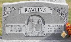 Elizabeth <i>McMurdie</i> Rawlins