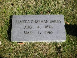 Almeda <i>Chapman</i> Bailey