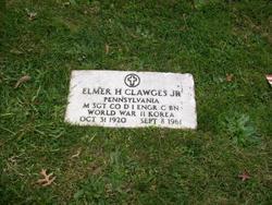 Sgt Elmer H. Clawges, Jr