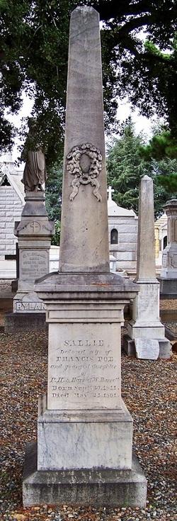Sallie <i>Burnett</i> Poe