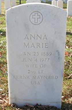 Anna Marie <i>Obermeyer</i> Maynard