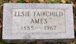 Elsie <i>Fairchild</i> Ames