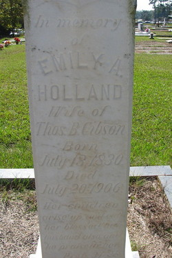 Emily Ann <i>Holland</i> Gibson