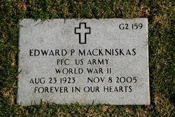 Edward P Mackniskas