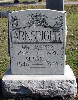 Susan J. <i>Lancaster</i> Arnspiger