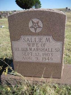 Sallie M. Marshall