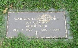 Warren Lee Mallory