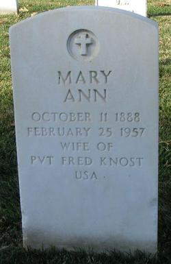 Mary Ann <i>McGuire</i> Knost