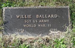 Sgt Willie Ballard