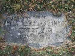 Ella A <i>Newell</i> Bonney