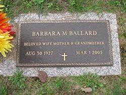 Barbara Anne <i>Miles</i> Ballard