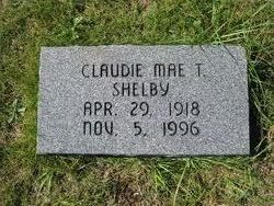 Claudie Mae T. Shelby