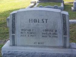 Louise R <i>campsen</i> Holst