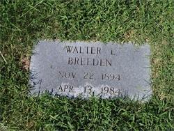 Walter Levi Breeden