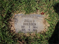Zella D. <i>Creekmore</i> Breeden