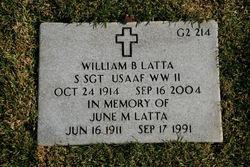 William B Latta