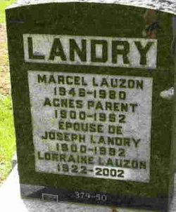 Josephine Agnes <i>Parent</i> Landry