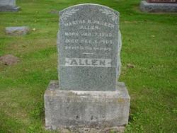 Martha B. <i>Parker</i> Allen