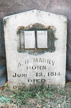 Rev Ausborn Rogers Mabry