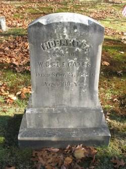 Hobart E Gates