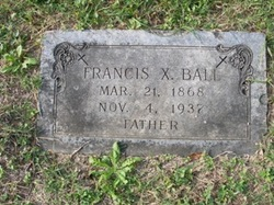 Francis X Frank Ball