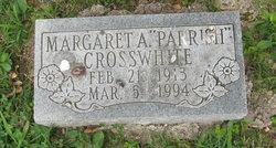 Margaret A. <i>Parrish</i> Crosswhite