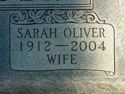 Sarah Mell Sally <i>Oliver</i> Huber