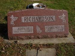 Florence C <i>Sciulte</i> Richardson