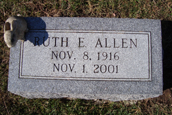 Ruth E <i>Brinton</i> Allen