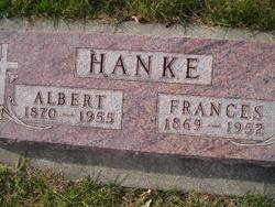 Frances <i>Melcher</i> Hanke