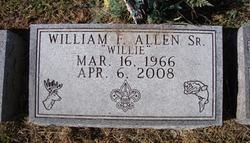 William Frederick Willie Allen, Sr
