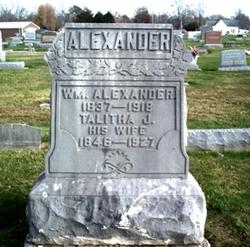 Talitha J <i>McCowan</i> Alexander