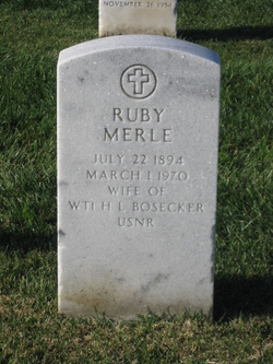 Ruby Merle <i>Kelly</i> Bosecker