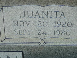 Juanita <i>Chitwood</i> Anderson