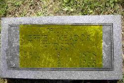 Effie Jane <i>Meador</i> Hudson