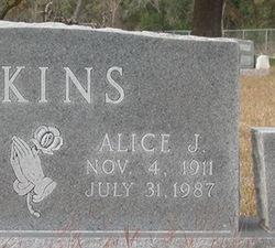 Alice Jennie <i>Knight</i> Atkins