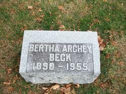 Bertha Alice <i>Kerschner</i> Beck