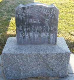 John Edward Davenport
