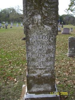 Minerva Elizabeth <i>Irvine</i> Barton