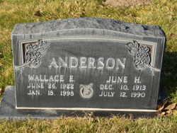 Wallace Earl Anderson