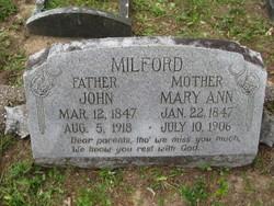 Mary Ann Milford
