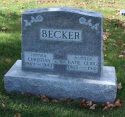 Katie <i>Gerig</i> Becker